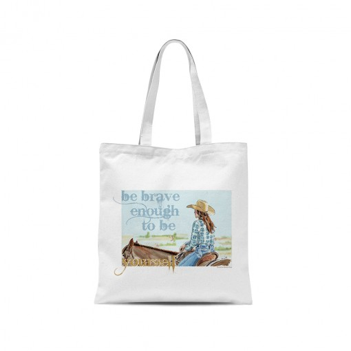 "Shopper ""Be brave enough to..."