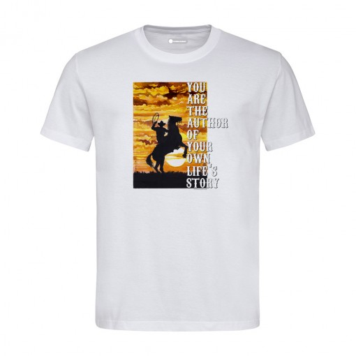 "T-shirt ""You are the author..."