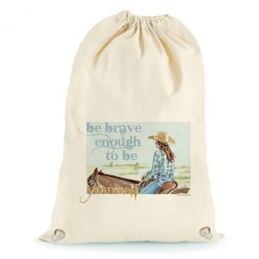 """Sacca XL """"Be brave enough..."""