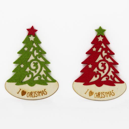 Magneti albero di Natale...