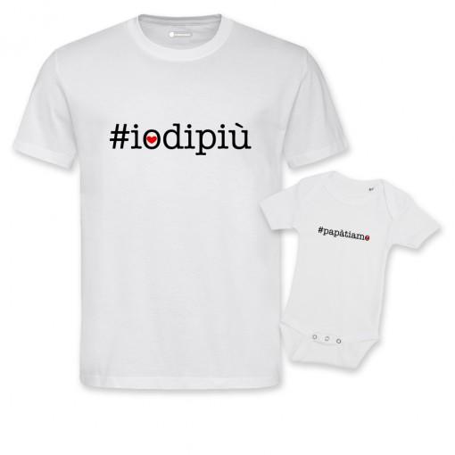 T-Shirt coppia uomo/baby...