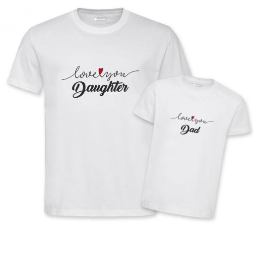 T-Shirt coppia uomo/bambina...