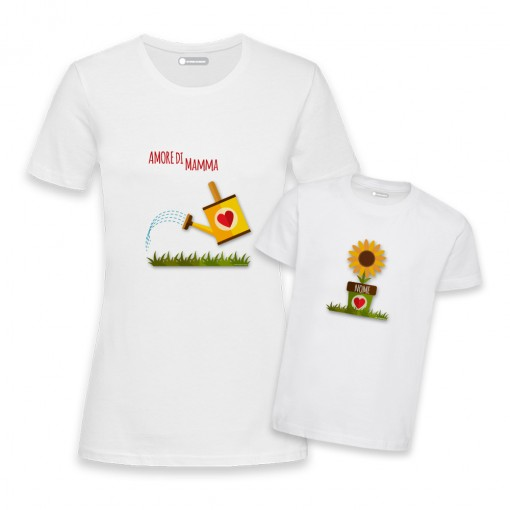 T-Shirt coppia...