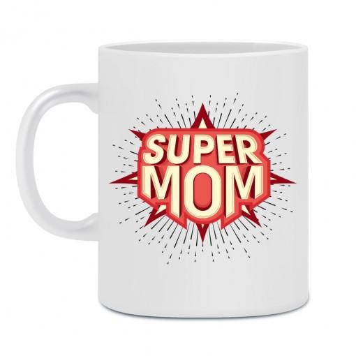 """Tazza """"Super Mom"""""""