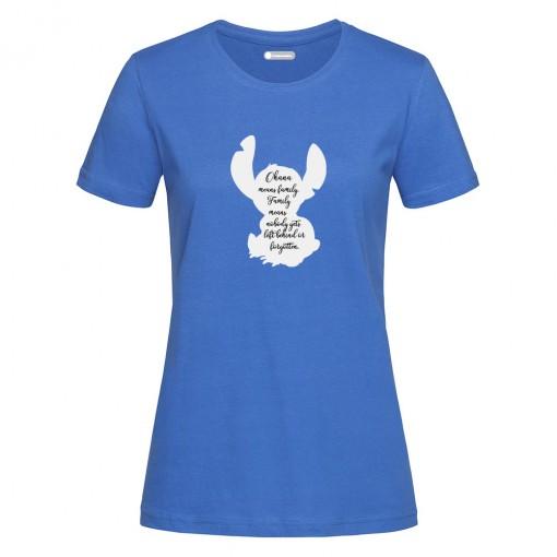"T-Shirt donna ""Stitch"""