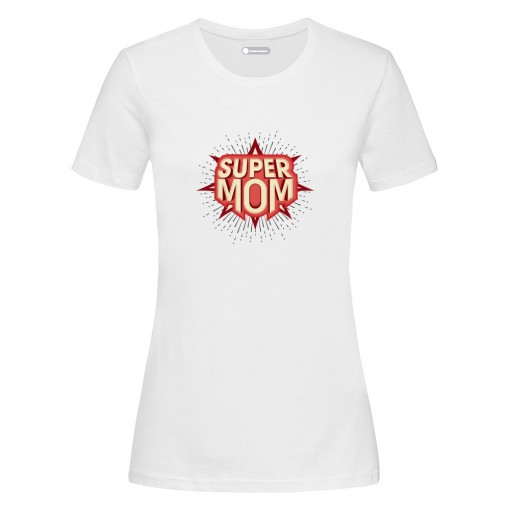 "T-Shirt donna ""Super Mom"""
