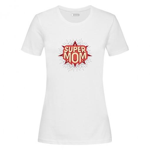 "T-Shirt donna ""Super Mom"""