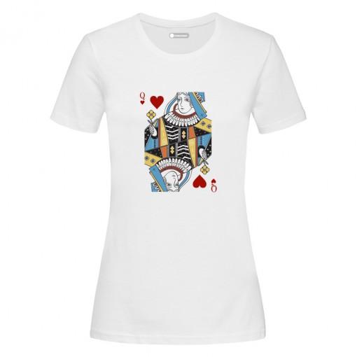 """T-Shirt """"Regina di Cuori"""""""