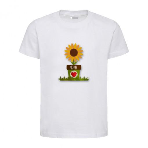 """T-Shirt bambino/a """"Girasole"""""""