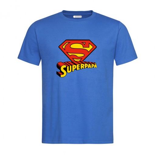 "T-Shirt uomo ""Super Papà"""