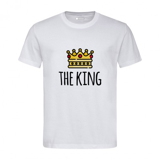 "T-Shirt uomo ""The King"""