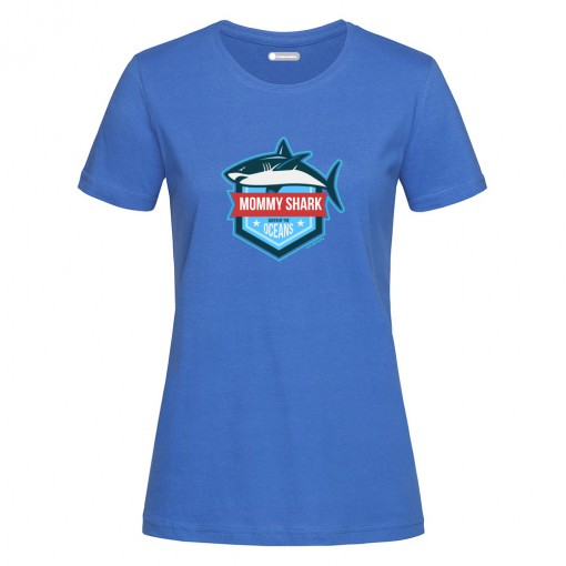 "T-Shirt donna ""Mommy Shark"""