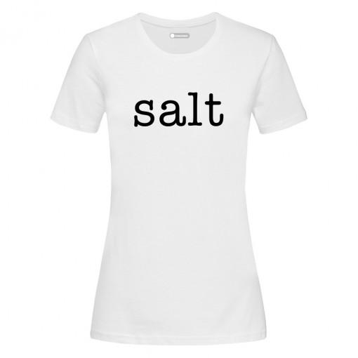"""T-Shirt donna """"Salt"""""""