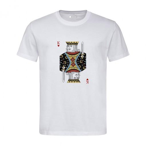 "T-Shirt uomo ""Re di Cuori"""