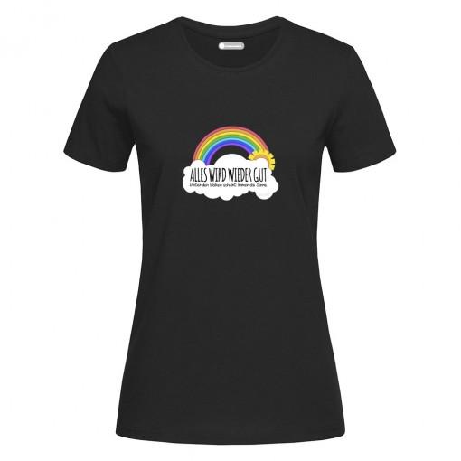 "T-Shirt donna ""Alles Wird..."