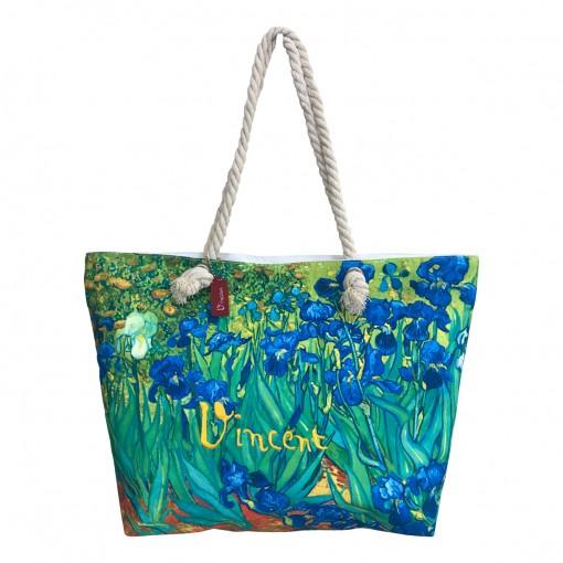 Borsa mare Van Gogh Iris...